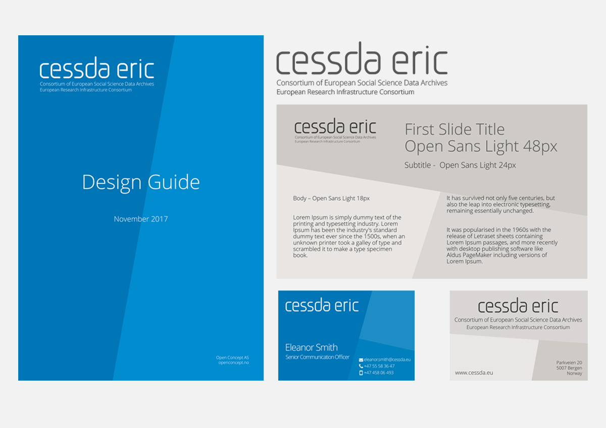 CESSDA ERIC - graphic profile