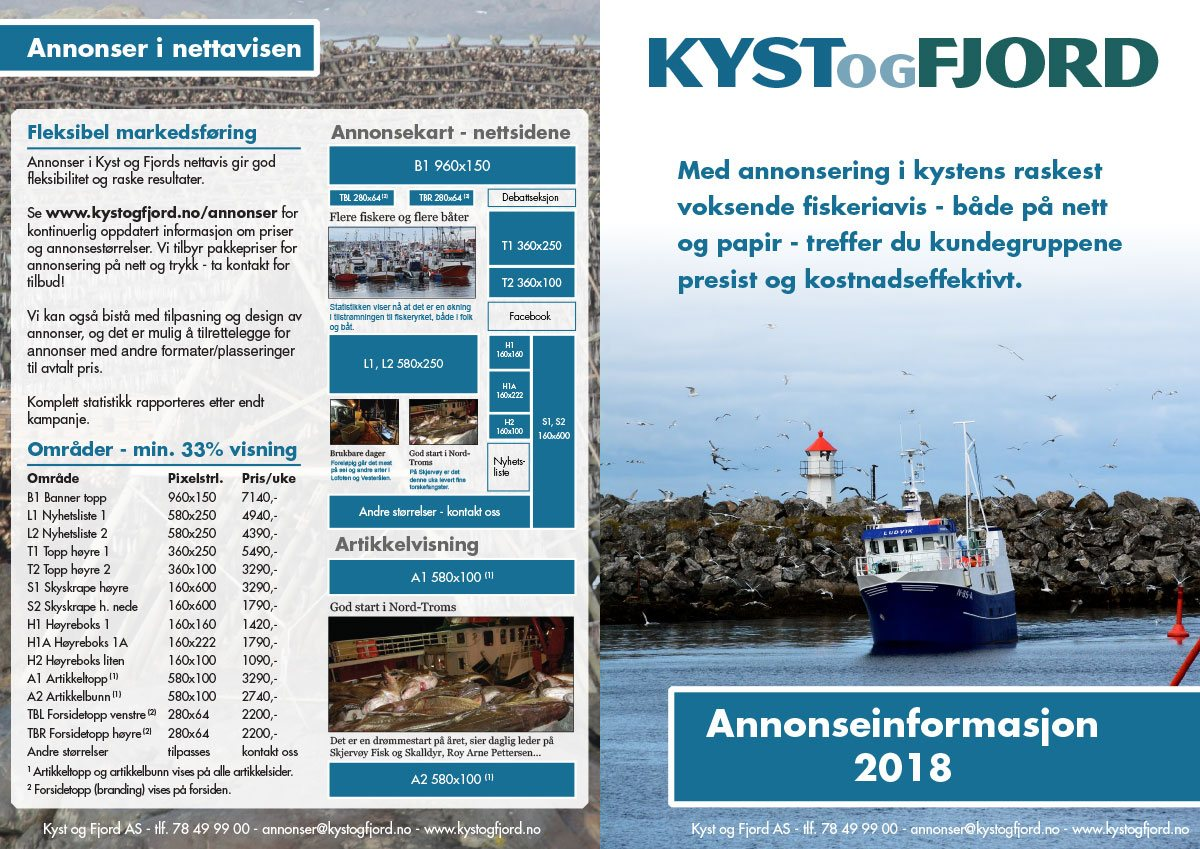 Kyst og Fjord - graphic profile and print materials